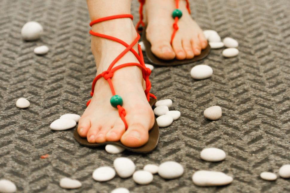 Happy sandals Fyzio workshop chůze pooblázcích