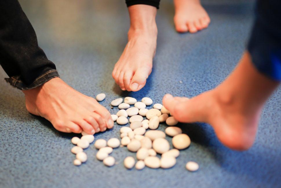 Happy Sandals Fyzio workshop cviky pro zdravé prsty nohou