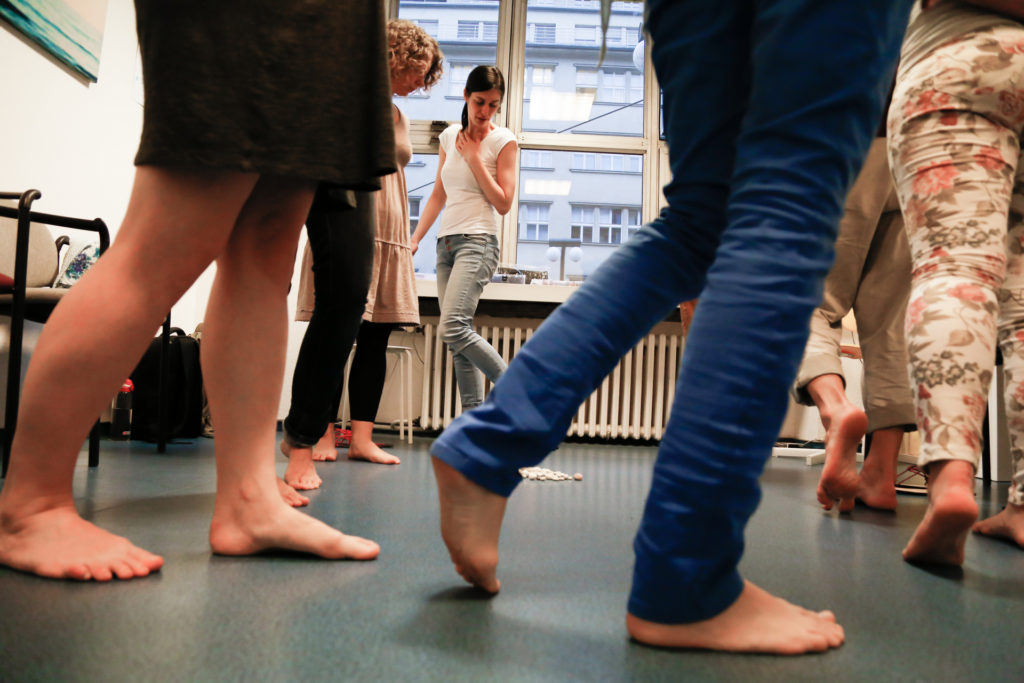 Happy Sandals Fyzio workshop nácvik zdravé chůze