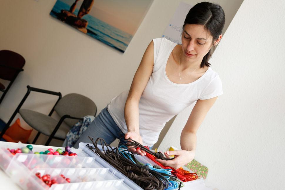 Happy Sandals Fyzio workshop barevné ladění tkaniček