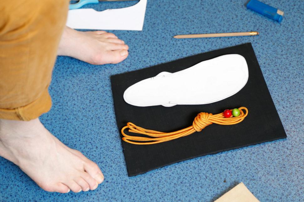 Happy Sandals Fyzio workshop šablona