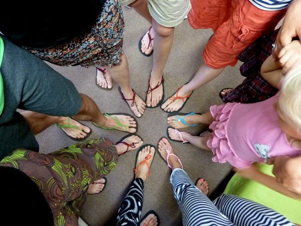 Barefoot sandály zworkshopu