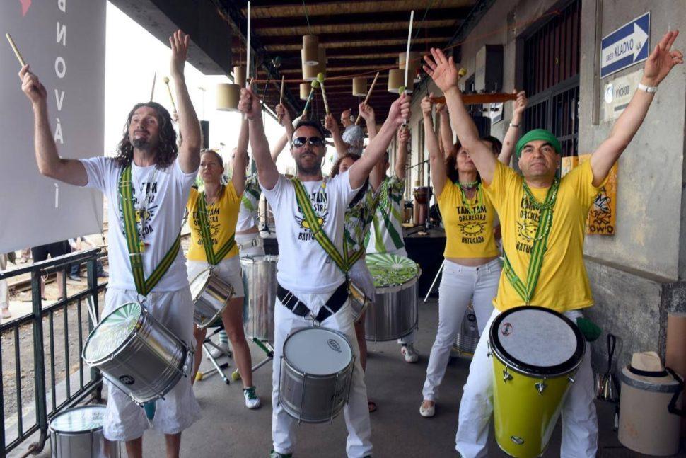 happysandals festivalu United Islands of Prague