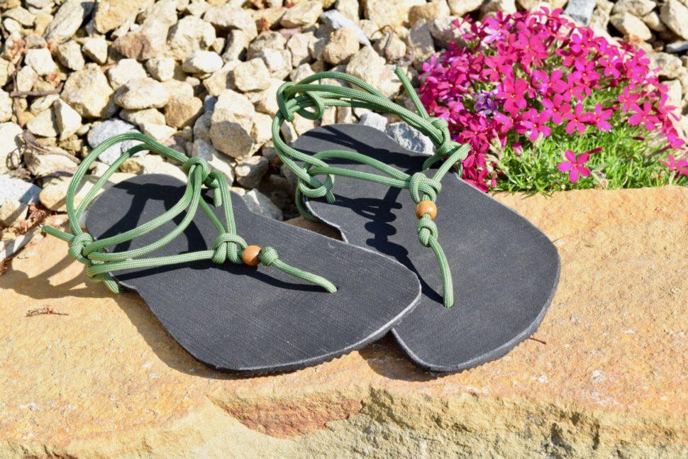 Barefoot sandály zworkshopu sBěžeckým úvazem