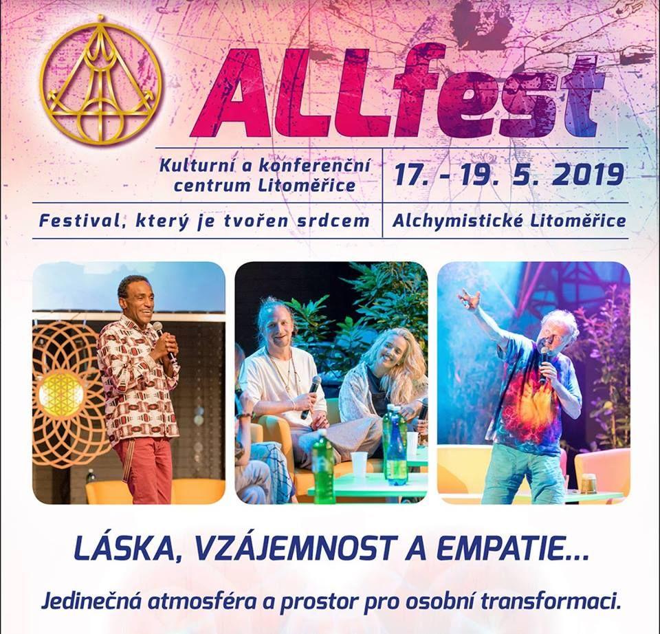 Festival Allfest Litoměřice leták 2019