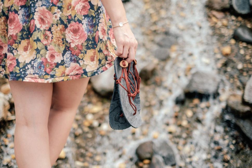 barefoot sandály summer walks jsou lehké