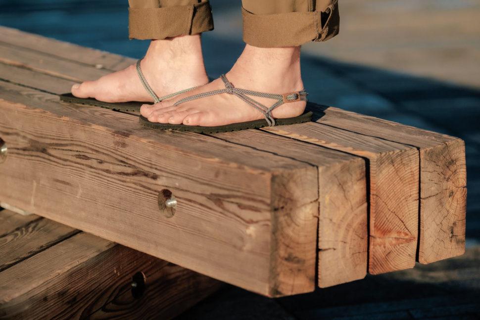Happy Sandals lifestyle vTrek and Hike pánské