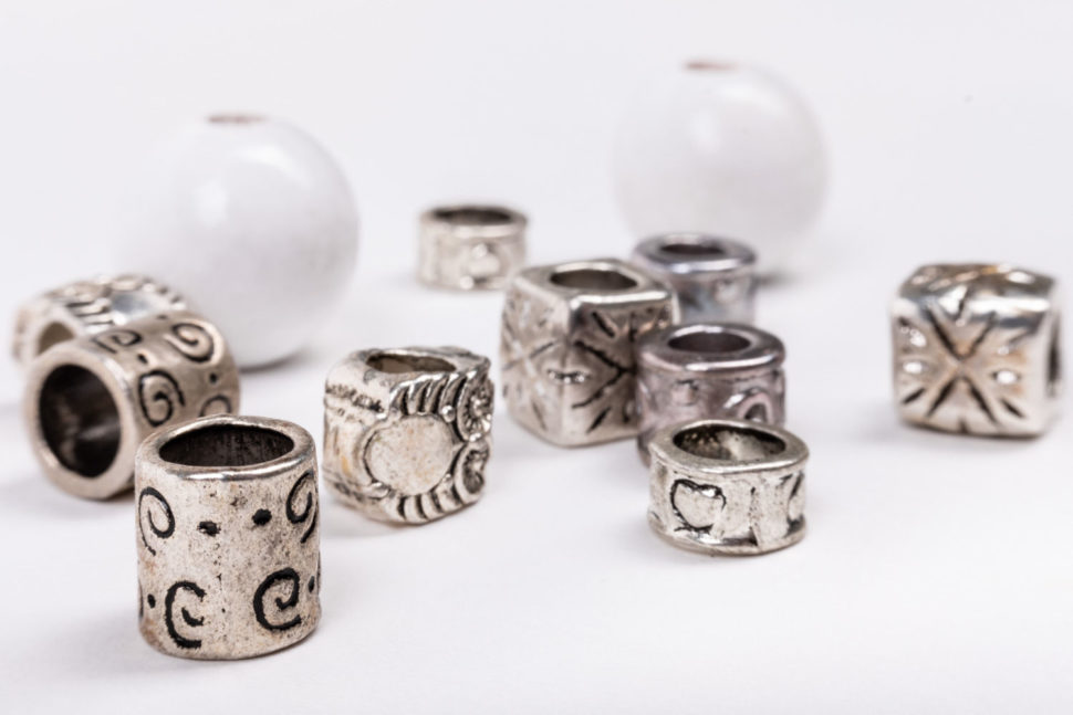 korále nazdobení happysandals set silver lady
