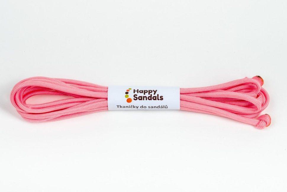 tkaničky dosandálů happysandals růžová
