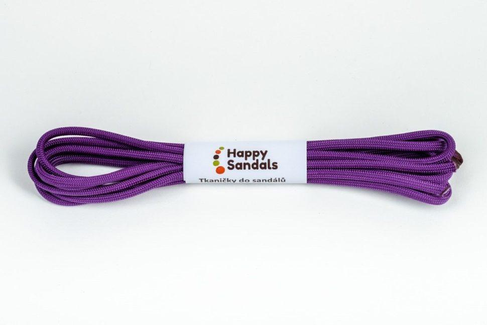 tkaničky dosandálů happysandals fialová