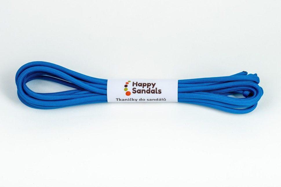 tkaničky dosandálů happysandals karibská modř