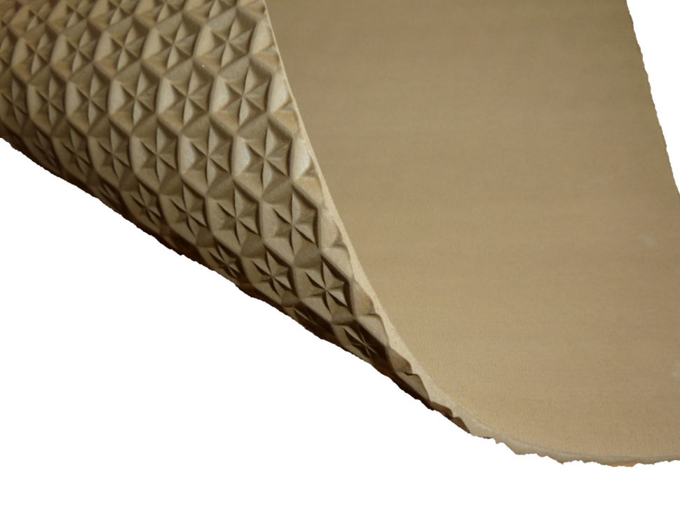 podrážka pro barefoot sandály basic set 4mm karamel