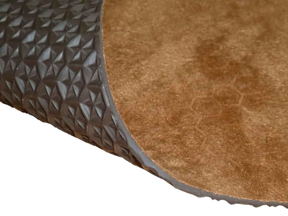 podrážka pro barefoot sandály basic set vegan 4mm hnědá