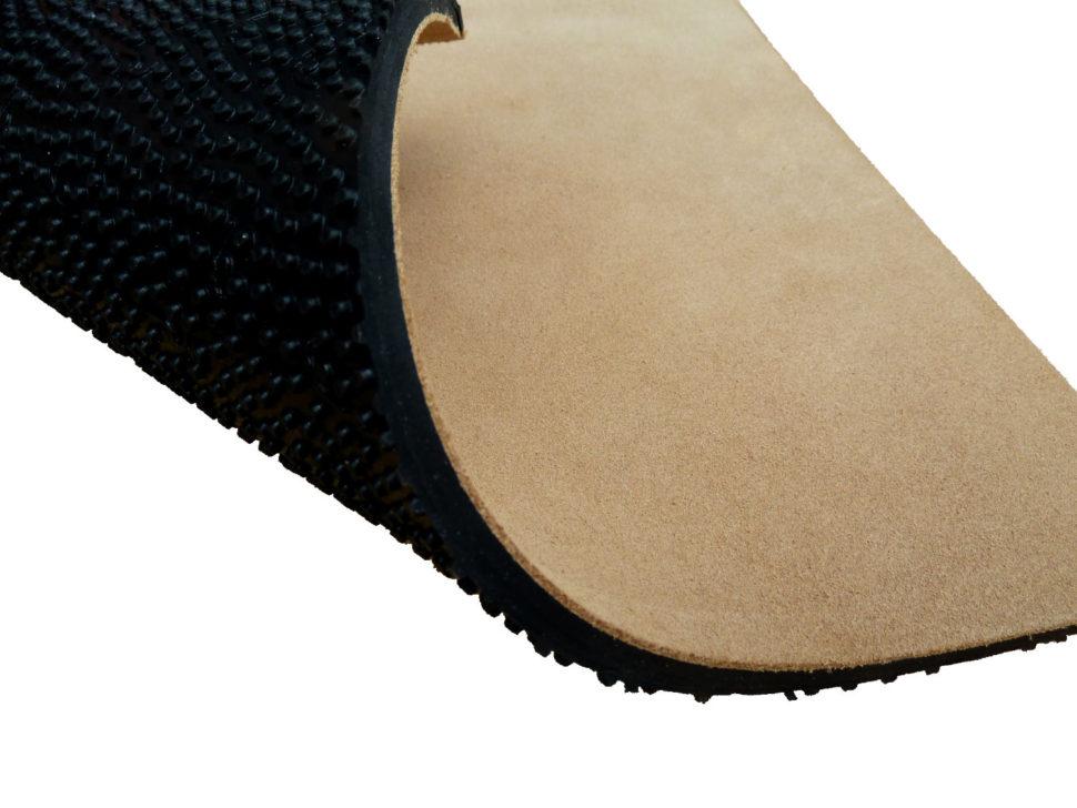5mm odolná podrážka spřírodní koženou stélkou
