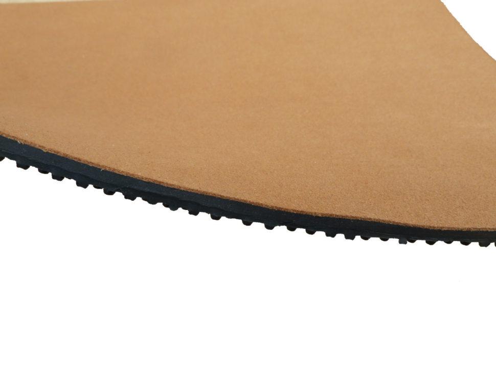 podrážka pro barefoot sandály comfort set vegan 7 mm hnědá
