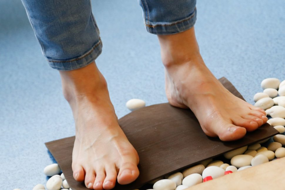 HS podrážkový materiál nabarefoot sandály