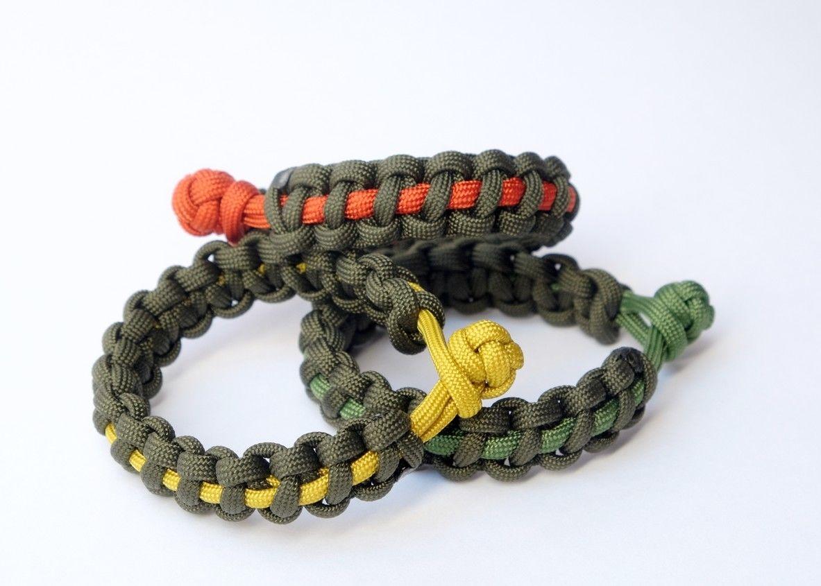 Kolekce náramků Army style