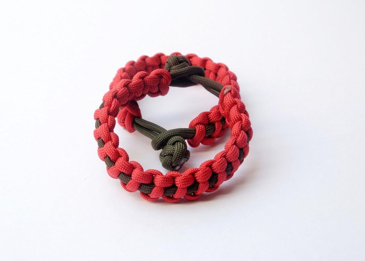 Kolekce náramků Red rings